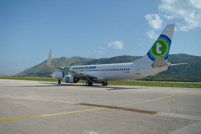 'HN taxiing out, Dubrovnik 29 May 2008